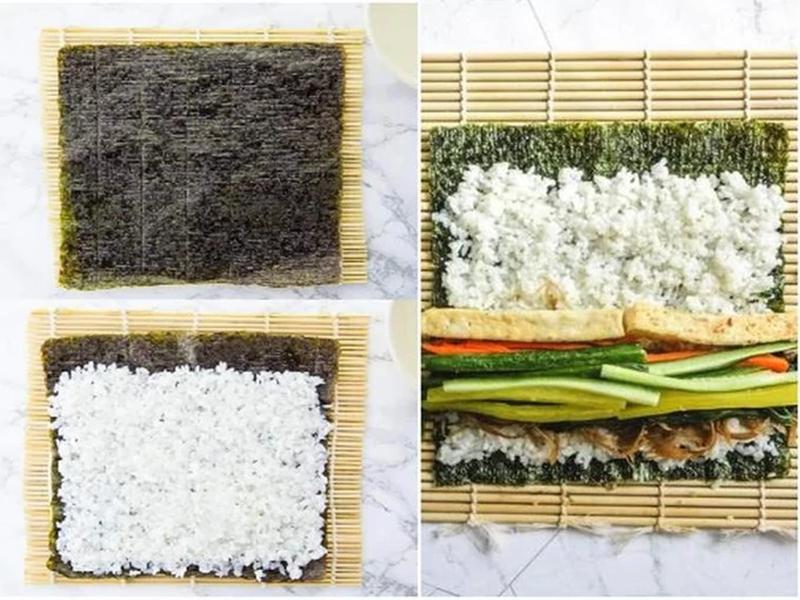 Cách làm cơm cuộn Hàn Quốc vừa ngon lại vừa đẹp